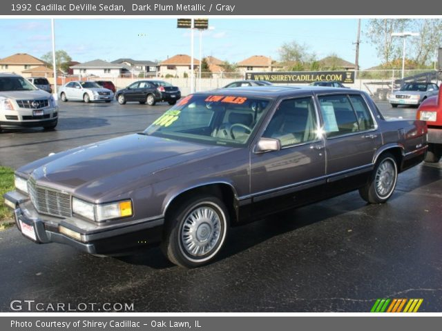 1992 Cadillac DeVille Sedan in Dark Plum Metallic