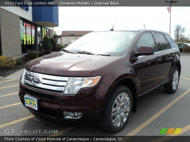 cinnamon metallic 2010 ford edge limited awd charcoal. Black Bedroom Furniture Sets. Home Design Ideas