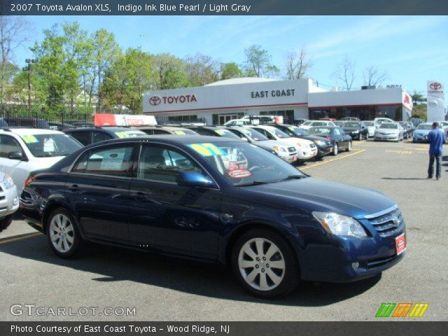 Indigo Ink Blue Pearl - 2007 Toyota Avalon XLS - Light Gray Interior ...