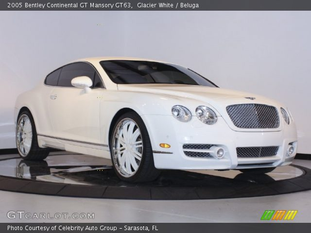 2005 Bentley Continental GT Mansory GT63 in Glacier White