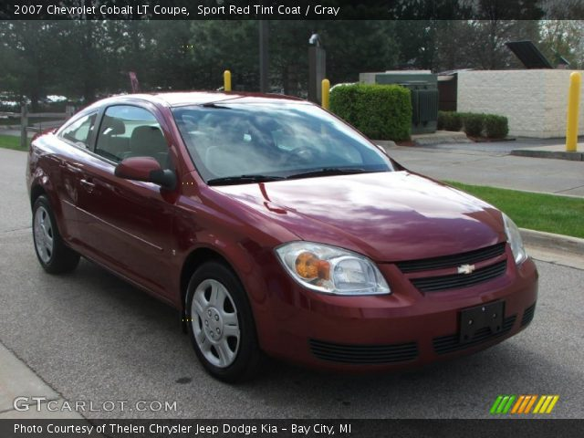 sport red tint coat 2007 chevrolet cobalt lt coupe. Black Bedroom Furniture Sets. Home Design Ideas