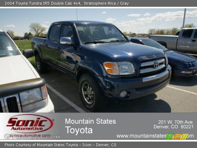 stratosphere mica 2004 toyota tundra sr5 double cab 4x4. Black Bedroom Furniture Sets. Home Design Ideas