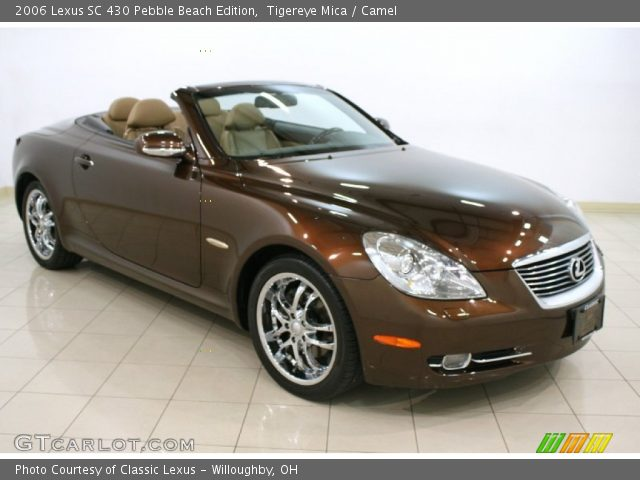 2006 lexus sc 430 pebble beach edition in tigereye mica click to see