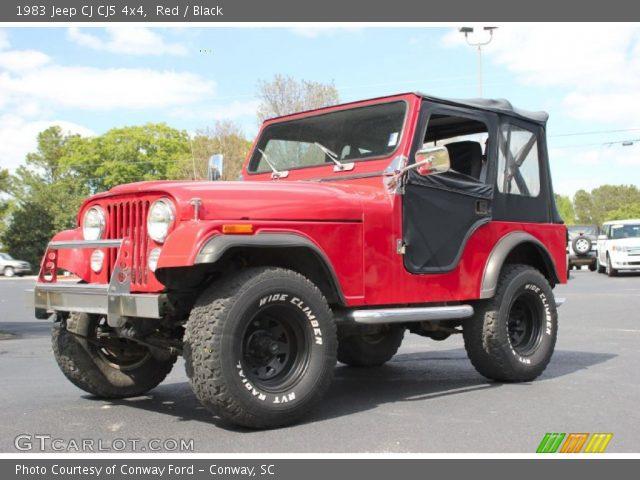 1983 Jeep CJ CJ5 4x4 in Red