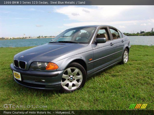 1999 BMW 3 Series 323i Sedan in Steel Blue Metallic