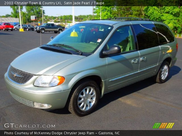 satin jade pearl 2003 chrysler town country lxi. Black Bedroom Furniture Sets. Home Design Ideas