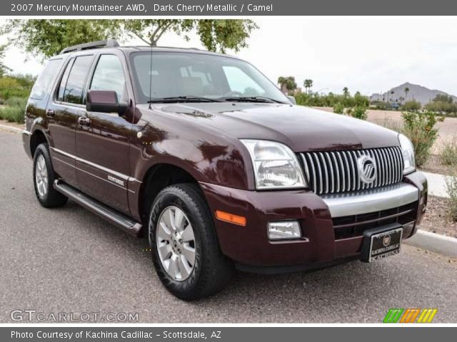 2007 Mercury Mountaineer AWD in Dark Cherry Metallic