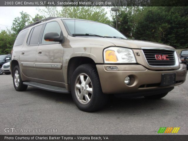 sandalwood metallic 2003 gmc envoy xl slt 4x4 light. Black Bedroom Furniture Sets. Home Design Ideas