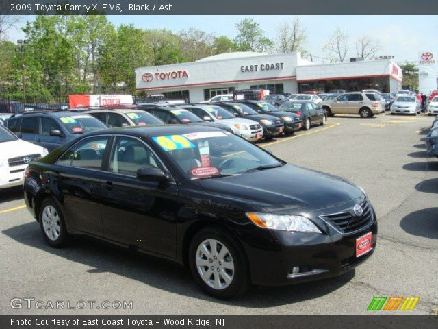 black 2009 toyota camry xle v6 ash interior vehicle archive 64100464. Black Bedroom Furniture Sets. Home Design Ideas