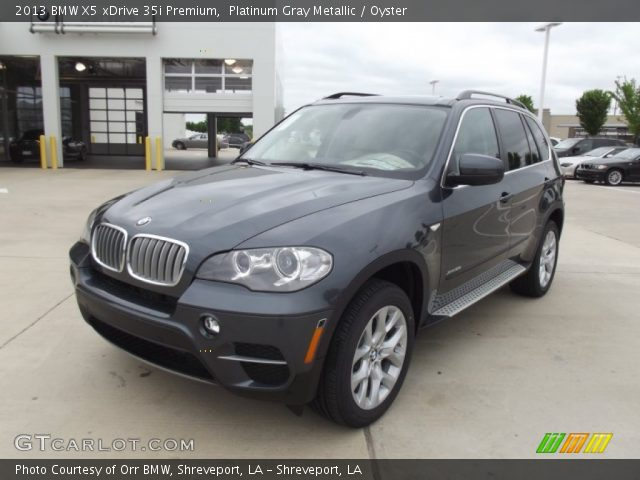 2013 BMW X5 xDrive 35i Premium in Platinum Gray Metallic
