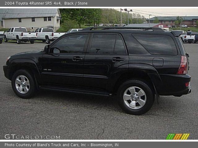 Black 2004 Toyota 4runner Sr5 4x4 Stone Interior Vehicle Archive 64289213