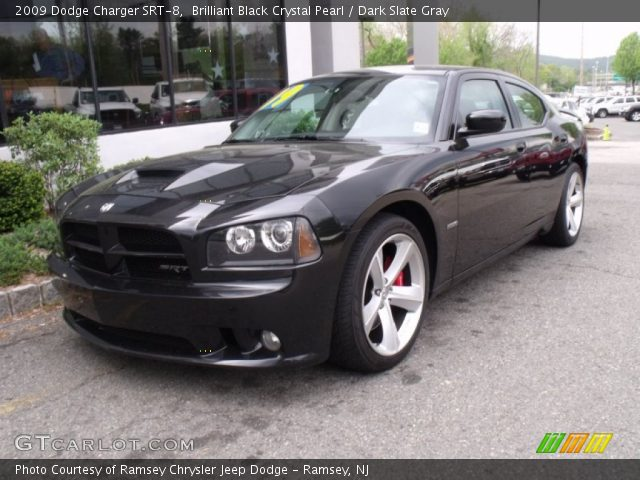 brilliant black crystal pearl 2009 dodge charger srt 8. Black Bedroom Furniture Sets. Home Design Ideas
