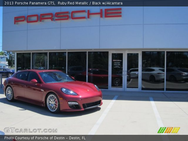 2013 Porsche Panamera GTS in Ruby Red Metallic