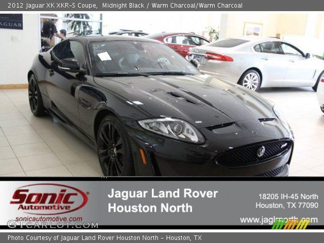 2012 Jaguar XK XKR-S Coupe in Midnight Black