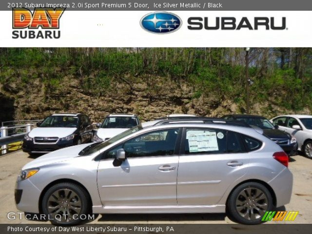 2012 Subaru Impreza 2.0i Sport Premium 5 Door in Ice Silver Metallic