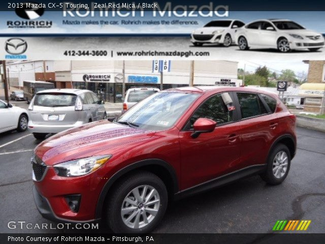 2013 Mazda CX-5 Touring in Zeal Red Mica
