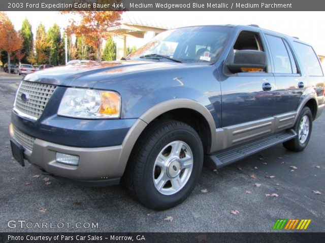 2003 ford expedition eddie bauer 4x4 in medium wedgewood blue metallic. Cars Review. Best American Auto & Cars Review