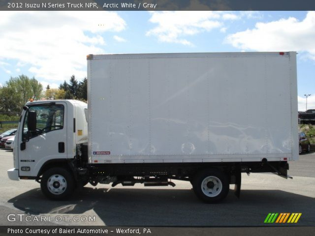 2012 Isuzu N Series Truck NPR in Arctic White