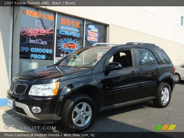 Black 2007 pontiac torrent awd ebony interior for Inside 2007 torrent