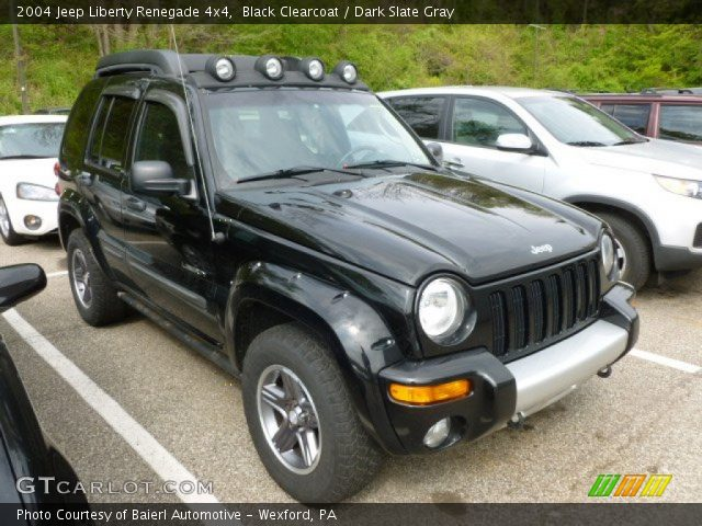 black clearcoat 2004 jeep liberty renegade 4x4 dark. Black Bedroom Furniture Sets. Home Design Ideas