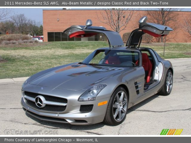 2011 Mercedes-Benz SLS AMG in Alu-Beam Metallic