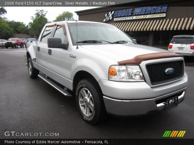 silver metallic 2006 ford f150 xlt supercrew medium. Black Bedroom Furniture Sets. Home Design Ideas
