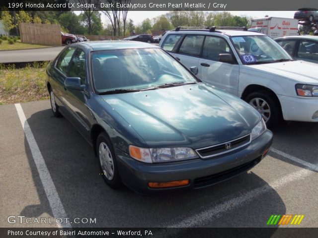 1996 Honda Accord LX Sedan in Dark Eucalyptus Green Pearl Metallic