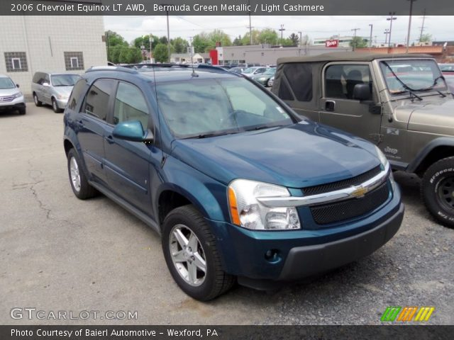 Bermuda Green Metallic - 2006 Chevrolet Equinox LT AWD ...