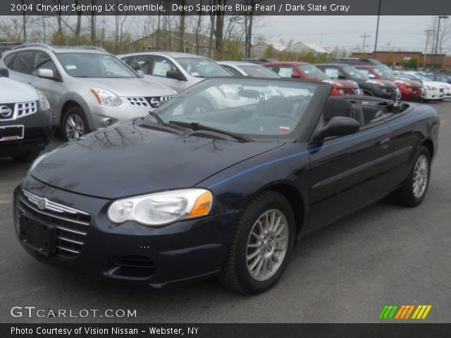 deep sapphire blue pearl 2004 chrysler sebring lx. Black Bedroom Furniture Sets. Home Design Ideas