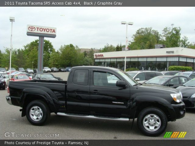 black 2011 toyota tacoma sr5 access cab 4x4 graphite gray interior vehicle. Black Bedroom Furniture Sets. Home Design Ideas