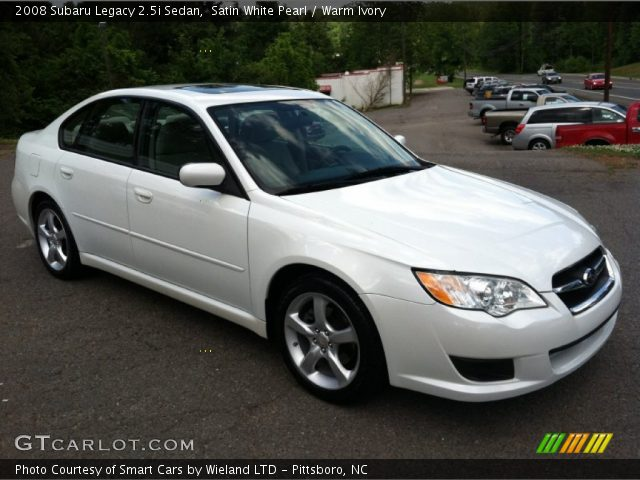 satin white pearl 2008 subaru legacy sedan warm. Black Bedroom Furniture Sets. Home Design Ideas
