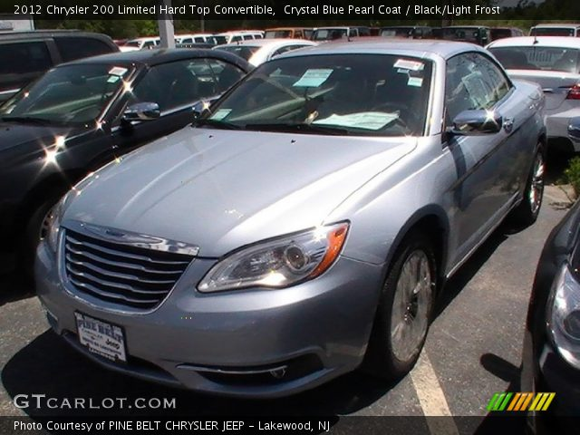 2012 Chrysler 200 Limited Convertible Blackberry Pearl ...  |2012 Chrysler 200 Limited Blackberry Pearl