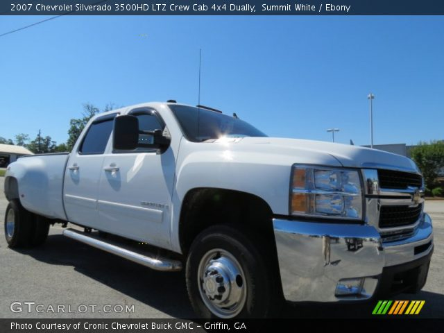 summit white 2007 chevrolet silverado 3500hd ltz crew. Black Bedroom Furniture Sets. Home Design Ideas