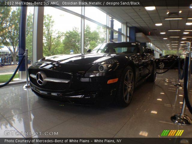 2012 Mercedes-Benz SLS AMG in Obsidian Black Metallic