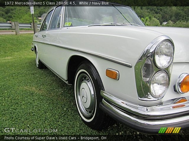 1972 Mercedes-Benz S Class 280 SE 4.5 in White