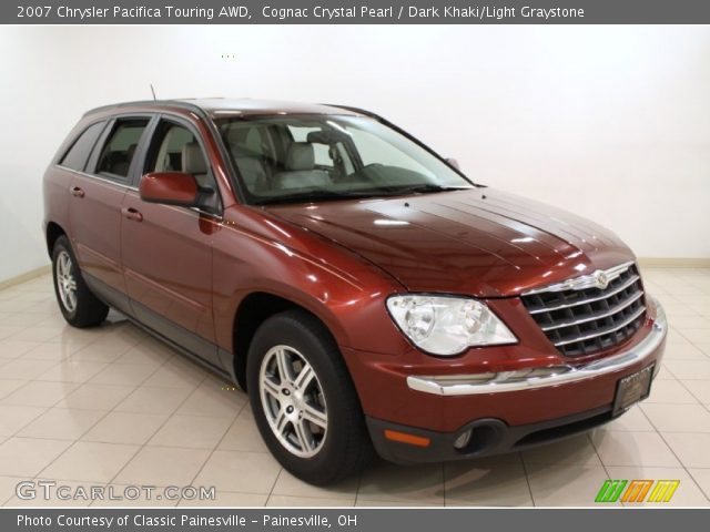 cognac crystal pearl 2007 chrysler pacifica touring awd. Black Bedroom Furniture Sets. Home Design Ideas