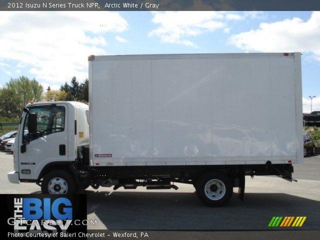 2012 Isuzu N Series Truck NPR in Arctic White