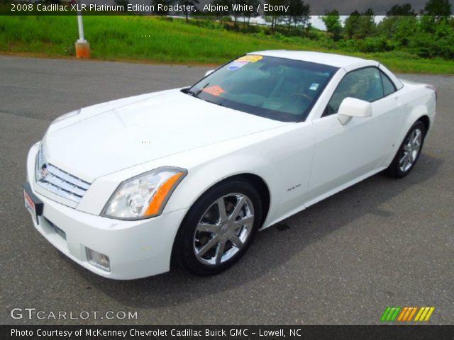 2008 Cadillac Xlr Platinum Edition Roadster In Alpine White