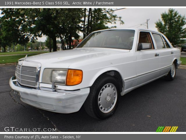 Arctic white 1991 mercedes benz s class 560 sel for 1991 mercedes benz 560sel