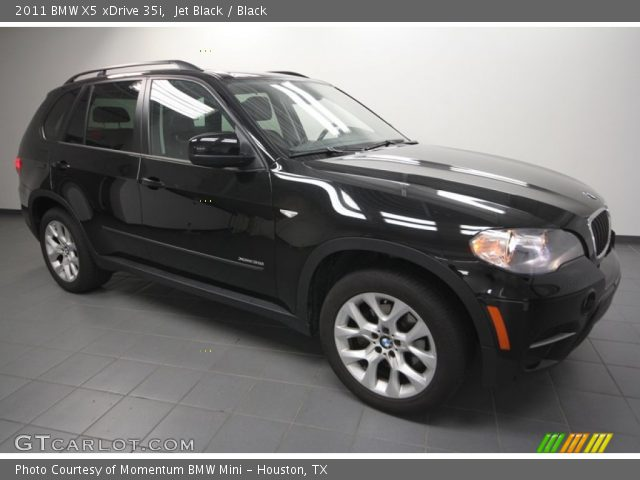 jet black 2011 bmw x5 xdrive 35i black interior vehicle archive 65228978. Black Bedroom Furniture Sets. Home Design Ideas