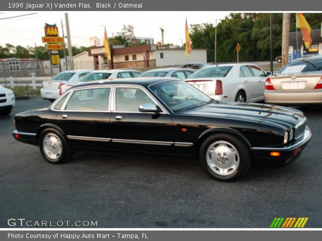 black 1996 jaguar xj vanden plas oatmeal interior. Black Bedroom Furniture Sets. Home Design Ideas