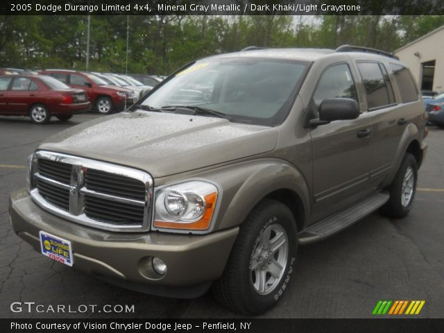 mineral gray metallic 2005 dodge durango limited 4x4. Black Bedroom Furniture Sets. Home Design Ideas