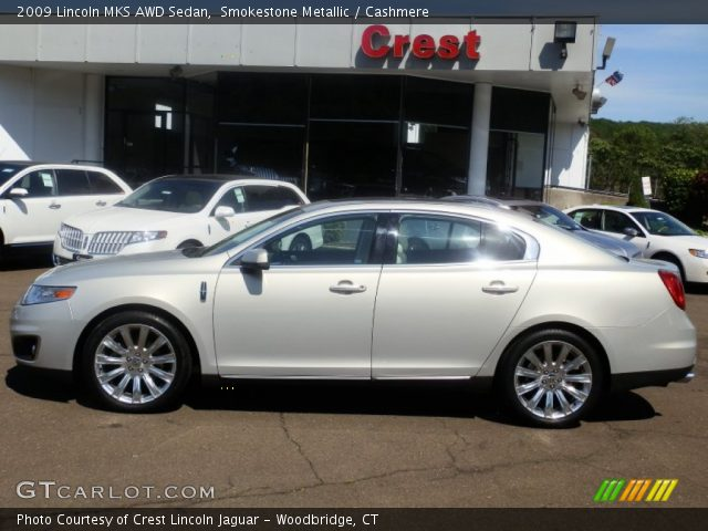 smokestone metallic 2009 lincoln mks awd sedan. Black Bedroom Furniture Sets. Home Design Ideas