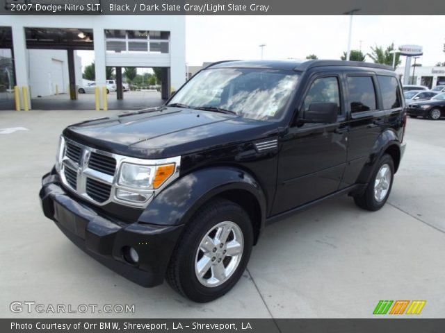 black 2007 dodge nitro slt dark slate gray light slate. Black Bedroom Furniture Sets. Home Design Ideas