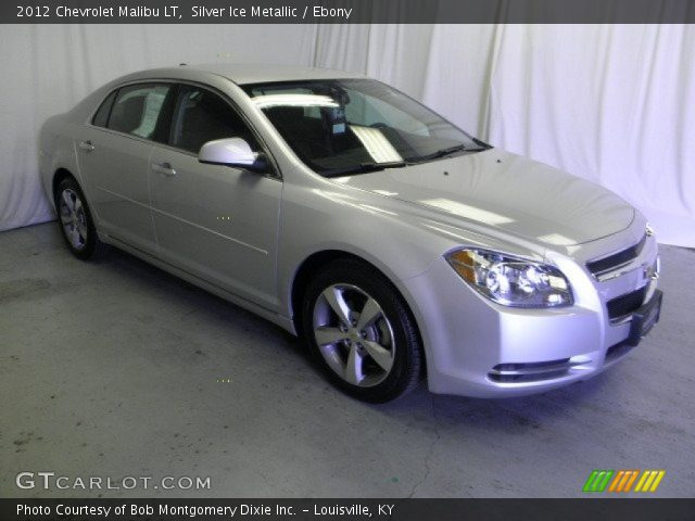2012 Chevrolet Malibu LT in Silver Ice Metallic. Click to see large ...