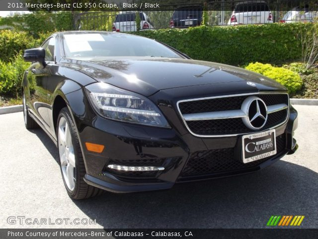 black 2012 mercedes benz cls 550 coupe black interior vehicle archive 65448439. Black Bedroom Furniture Sets. Home Design Ideas