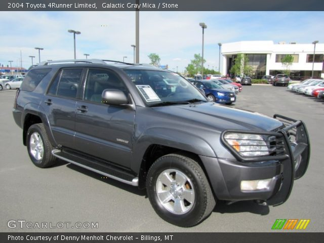 galactic gray mica 2004 toyota 4runner limited stone. Black Bedroom Furniture Sets. Home Design Ideas
