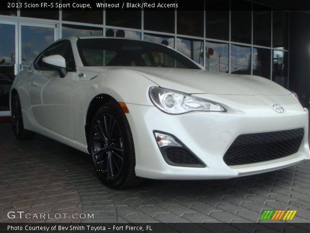 2013 Scion FR-S Sport Coupe in Whiteout