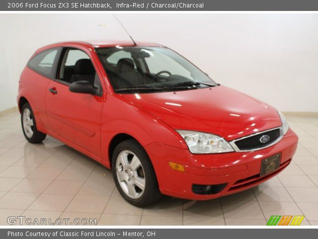 infra red 2006 ford focus zx3 se hatchback charcoal. Black Bedroom Furniture Sets. Home Design Ideas