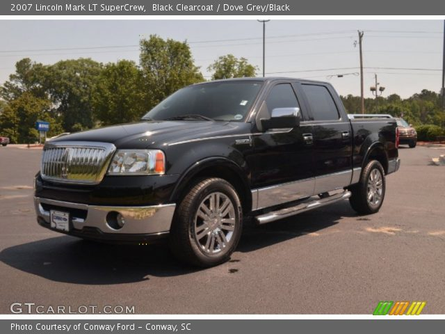 black clearcoat 2007 lincoln mark lt supercrew dove. Black Bedroom Furniture Sets. Home Design Ideas